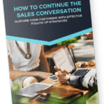 how to continue the sales conversation ebook mockup