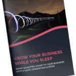 grow your business while you sleep booklet mockup