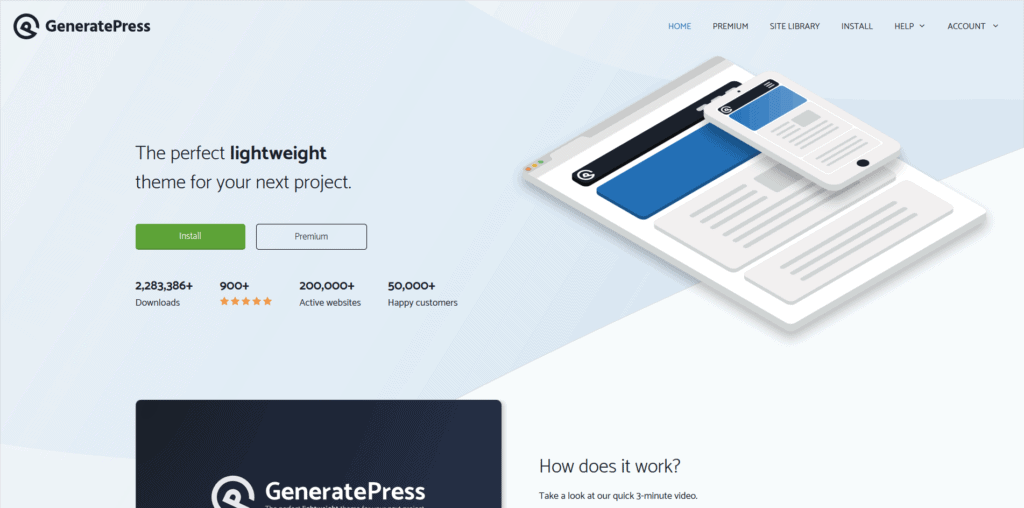 generate press website screenshot