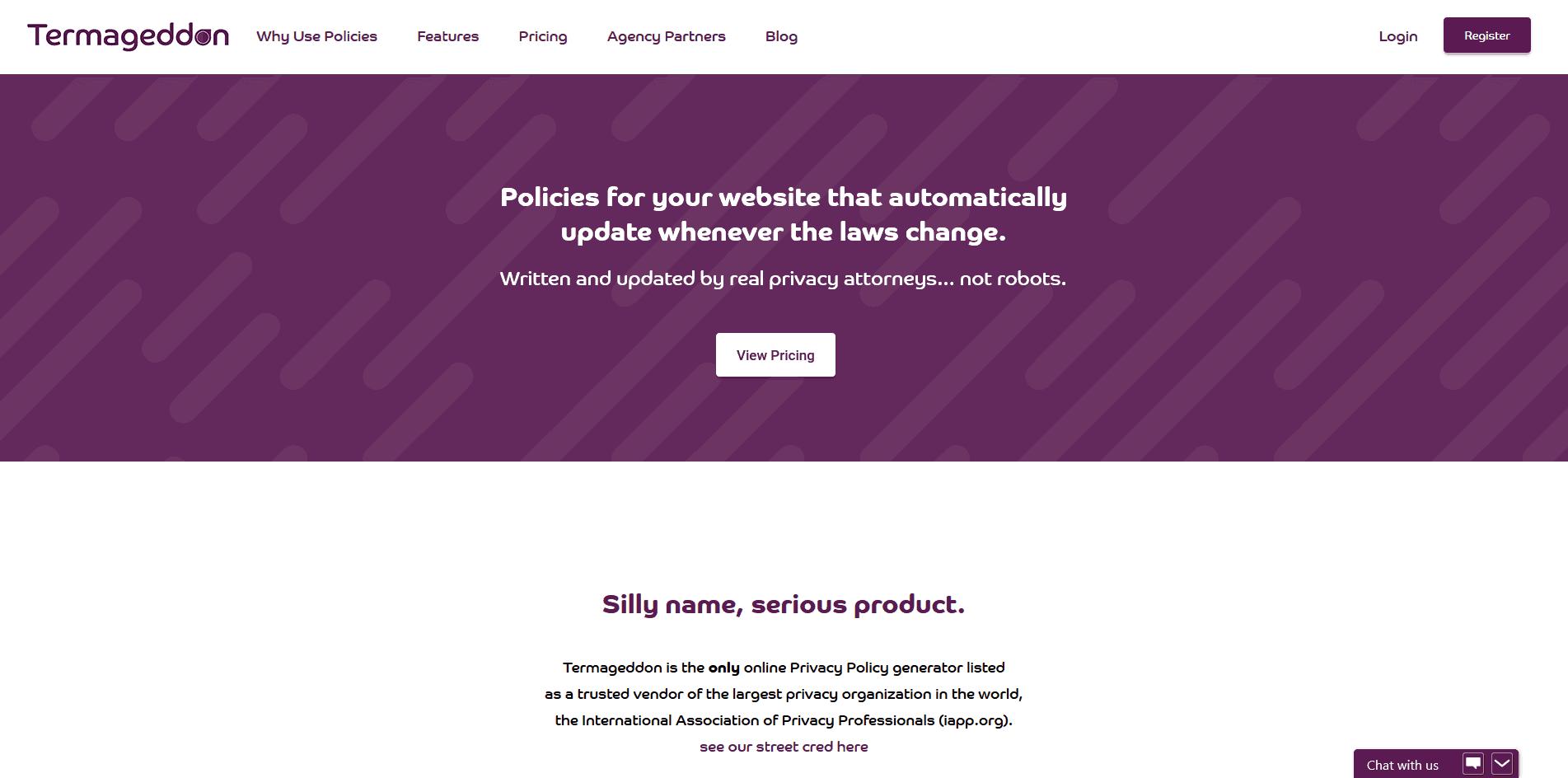 termageddon website screenshot