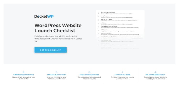 Wordpress Website Checklist